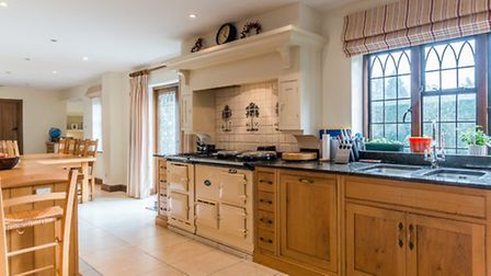 The kitchen at Lane End