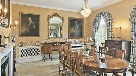 Dine in style at the Old Vicarage