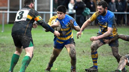 St Albans continued their fine form in 2016 with a win over Hemel Hempstead. Picture: KEVIN LINES