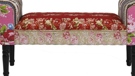 Romany patchwork love seat, £285, The French Bedroom Company. PA Photo/Handout