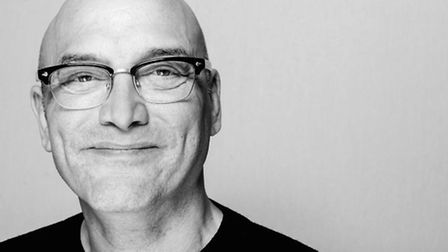 Gregg Wallace by Charlotte Knee.