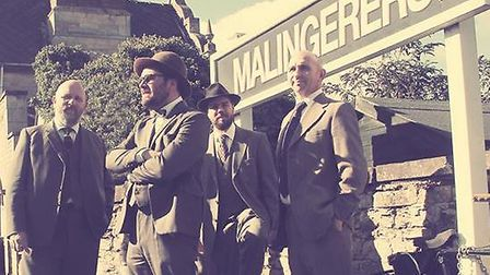 The Malingerers will be performing on stage at the Old Bull Inn.