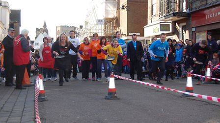 The 2016 Pancake races will take place next Tuesday, February 9