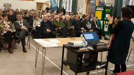 More than 240 people attended the event at St Paul's Church - photo credit: Roy Milani