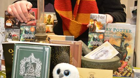 Guy Makey, who is holding a Harry Potter Day at Niche Comics, Huntingdon,