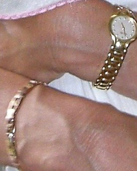 Police have released images of the jewellery stolen in the burglary, with the hopes of returning the