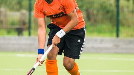Ranjit Sehmbi scored one as the mixed side progressed in the Mixed Cup. Picture: CHRIS HOBSON