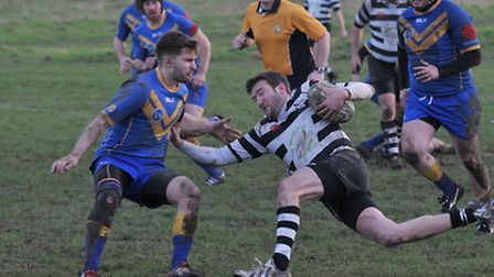 Tom Maile was on-form as Verulamians beat Old Streetonians. Picture: DANNY LOO
