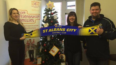 Stand by your Saints have already scored points in the wider community by strengthening ties with th