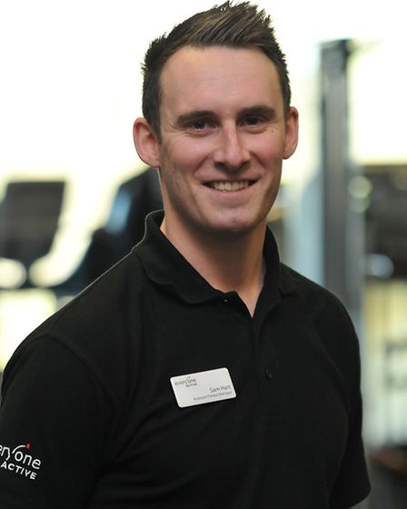 Personal Trainer Sam Hart at Westminster Lodge