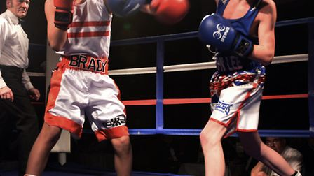 Rotary Club of Huntingdon Cromwell with Cambridgshire Constabulary Amateur Boxing Club, dinner and b