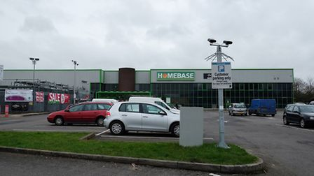 The Homebase store in the Courtyard Alban Park