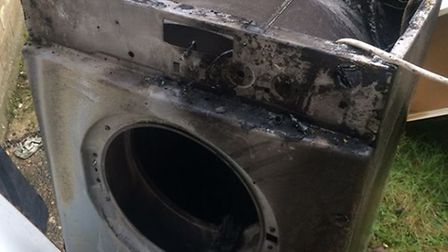 Tumble dryer causes fire in Eynesbury home
