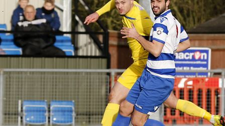 Louie Theophanous played in a new look front three. Picture: LEIGH PAGE