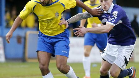 James Comley appears set for the St Albans exit door. Picture: LEIGH PAGE