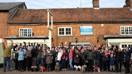 Kimpton residents collectively known as Save Our White Horse have come together to put in an officia