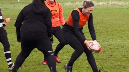 The Royston Ladies Rugby Team had a cracking day.