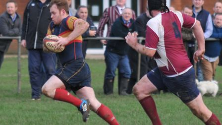 Tabard raced into a big early lead but were eventually pegged back by Staines. Picture: DANNY LOO