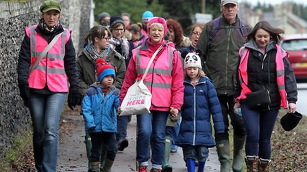 Breast Cancer Walk taking place in Royston
