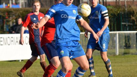 London Colney could not find a way past Biggleswade United. Picture: KEVIN LINES