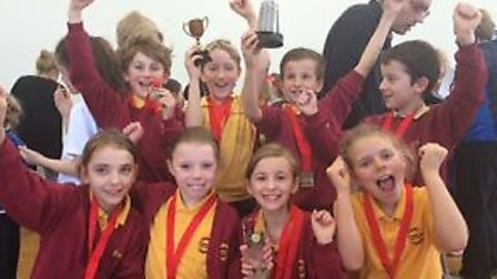 Year 4 pupils from Wheatfields Junior school will represent Hertfordshire in the county finals of Sp