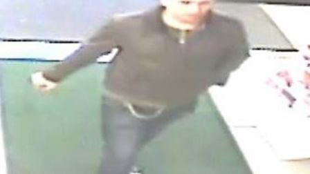Police have released a CCTV image in connection with theft at Tesco's in Eynesbury