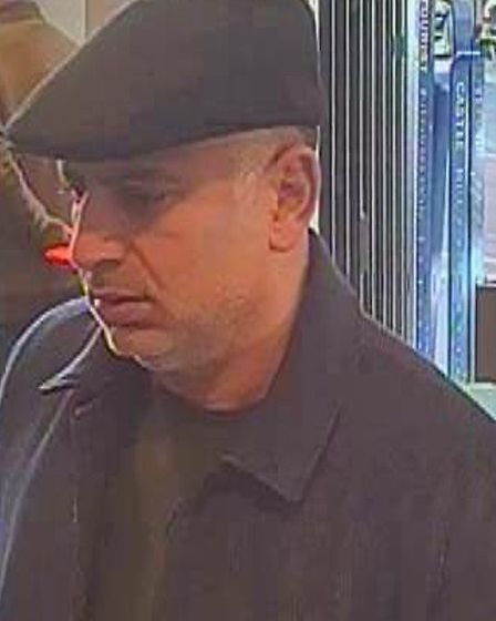 Police would like to speak to these people in connection with a distraction theft.