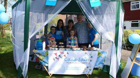 Clare's next bake sale will be at her home in Hadrian Close on April 16 between 2-5pm