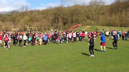 The Harpenden Sport Relief mile will take place on Sunday, March 20