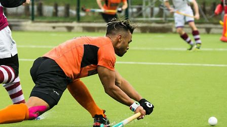 South African international Lance Louw scored for St Albans Hockey Club. Picture: CHRIS HOBSON