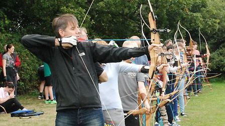 Wheathampstead archers in action