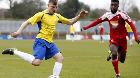 Harry Anderson scored the winner against Hemel Hempstead. Picture: LEIGH PAGE