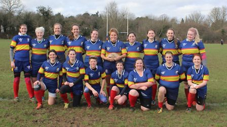 Tabard Ladies came within seconds of drawing with league leaders East London Ladies