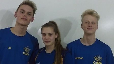 Zhi Ong, Shannon Scott and George Loveman have been selected to represent GB at the FISEC Games