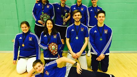 PDFA county championships 2016 medal winners