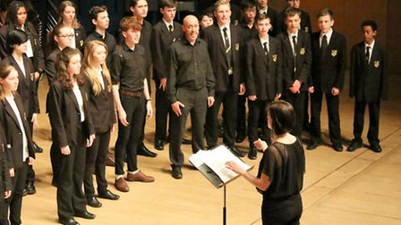 Royston Rotary Youth Makes Music concert March 2016