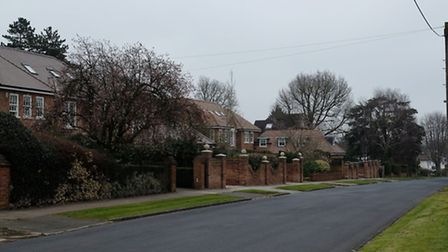 Houses on Marshal's Drive in Marshalswick