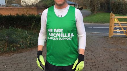 James Lovelace will be running the London Marathon after being diagnosed with skin cancer Melanoma.