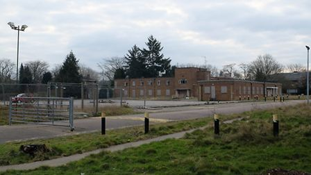 The proposed site for Harperbury free school