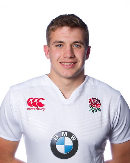 England U20 elite player George Perkins. Picture: ANDY TAYLOR/ATSPORTPHOTO
