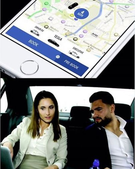 A new taxi app has launched in the district response to the demand for an Uber – style service acros