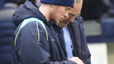 St Albans City's new management team of Harry Wheeler and Ian Allinson. Picture: BOB WALKLEY
