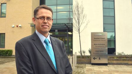 Clive Mason, Head of Services, at Huntingdonshire District Council,