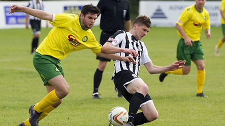 Stuart Eason has joined Spalding United on a dual registration. Picture: LOUISE THOMPSON