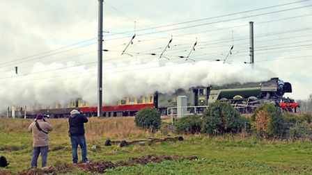 Flying Scotsman, at Offord,