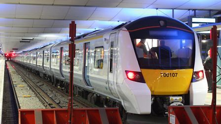 Thameslink will introduce their new and bigger class 700 trains later this year.