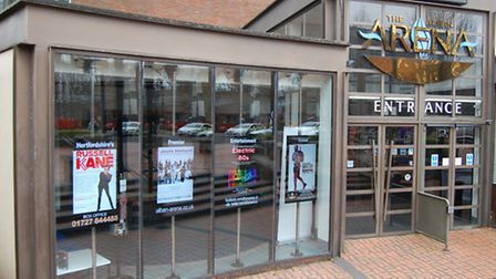 The tourist information centre will be moving to the Alban Arena - photo courtesy of Chris Baker