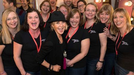 The Wyton and Brampton Military Wives Choir with Lulu