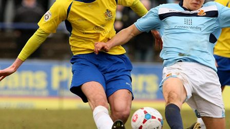 James Kaloczi has returned to St Albans City on dual-registration from Dunstable Town. Picture: LEIG