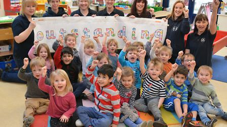 Houghton & Wyton Pre School Outstanding Ofsted,